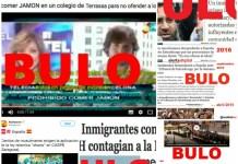 bulos de inmigrantes y musulmanes