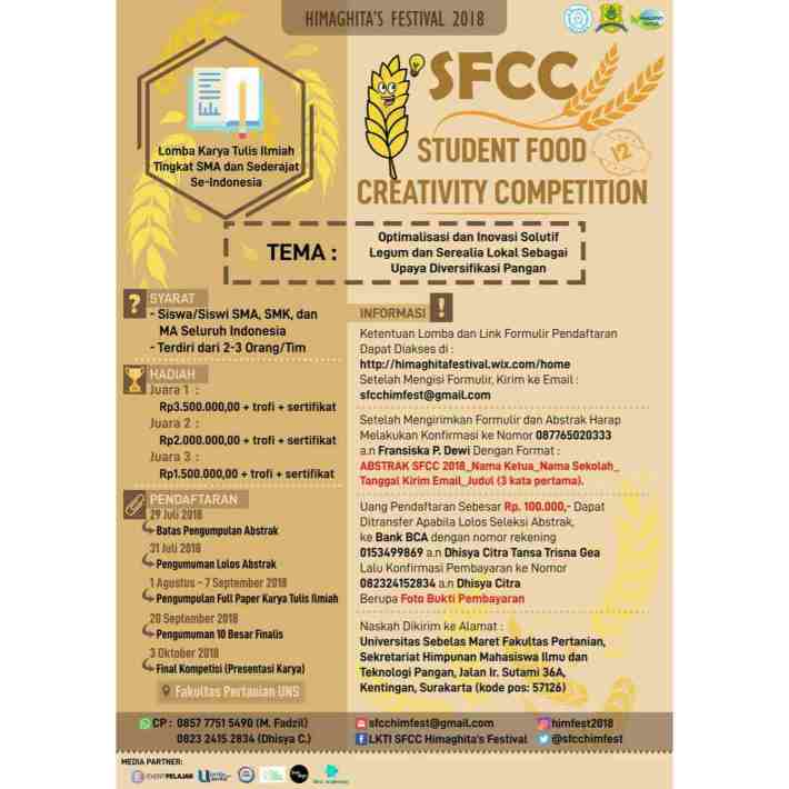 Student Food Creativity Competition