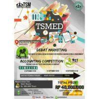 [TSMED 2018] Accounting Competition & Debat Marketing