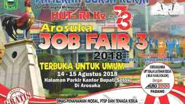 Arosuka Job Fair [14-15 Agustus 2018]