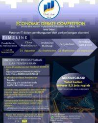 Economic Debate Competition [EDITION] 2018