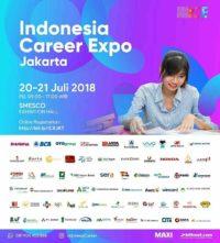 Indonesia Career Expo – JAKARTA [20 – 21 Juli 2018]
