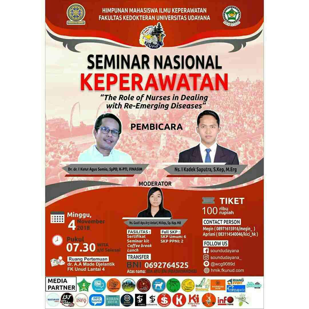 Seminar Nasional Keperawatan 2018 FK UNUD