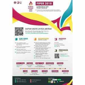 Lomba Karya Tulis Ilmiah Nasional FIPER 2018
