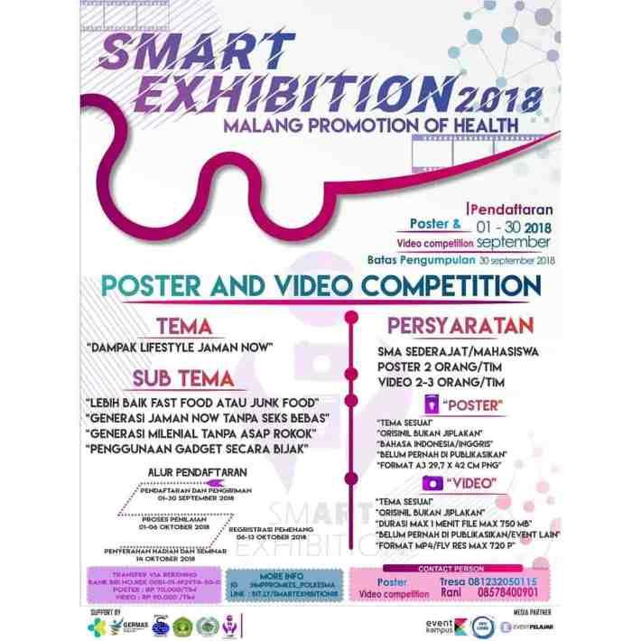 Lomba Smart Exhibition 2018 Poltekkes Kemenkes Malang