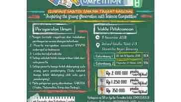 Smart Student Competion (S2C) 2018 UNNES