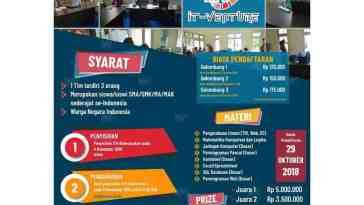 IT-VENTURE XI 2018 (Lomba IT tingkat SMA/SMK Sederajat)