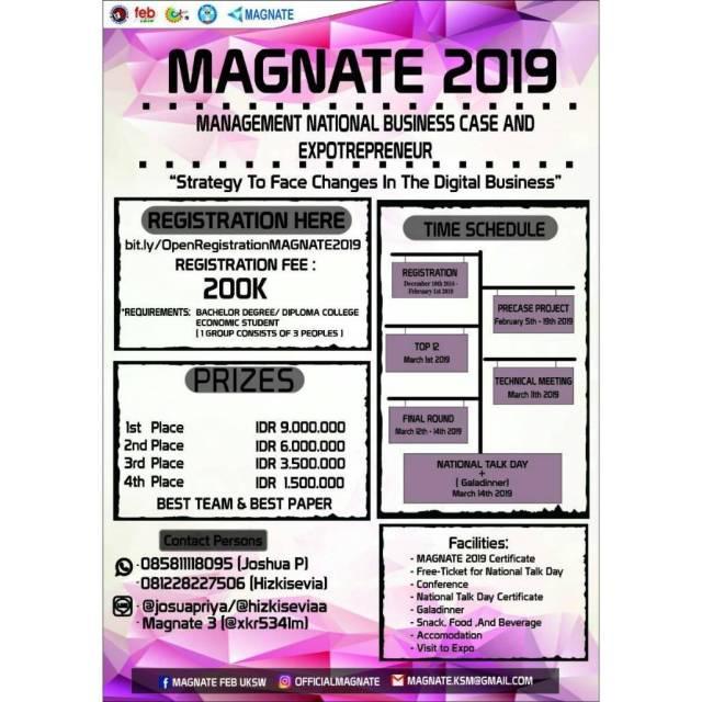 MAGNATE 2019