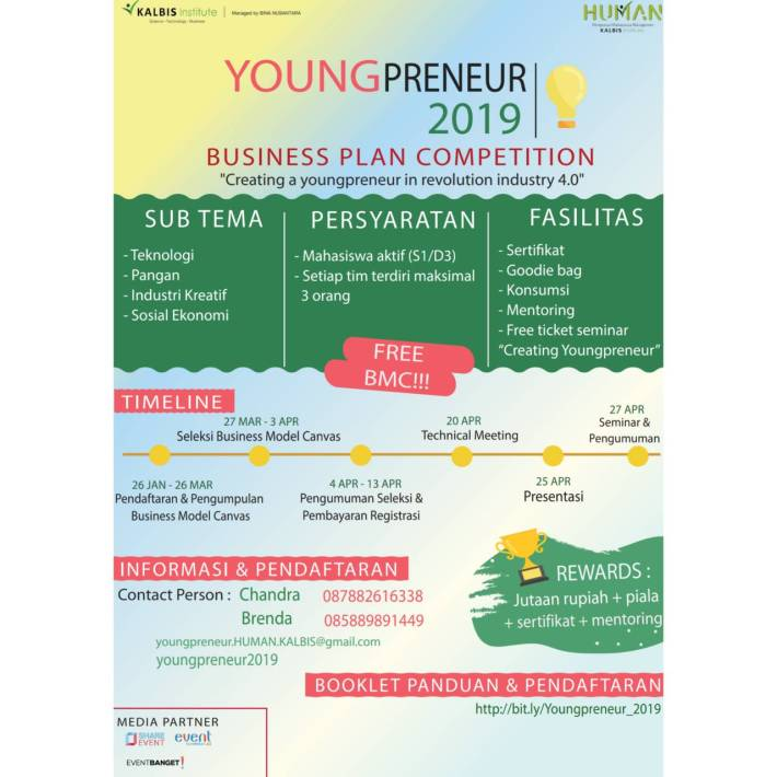Youngpreneur BUSINESS PLAN COMPETITION 2019