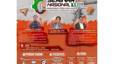 SEMINAR NASIONAL K3 2019