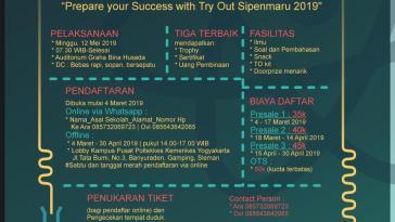 Try Out Sipenmaru Poltekkes Kemenkes Yogyakarta 2019