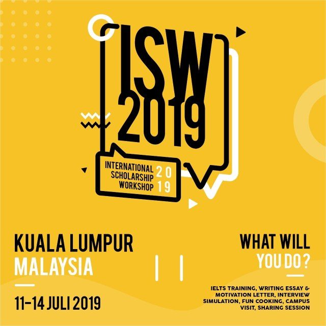 International Scholarship Workshop 2019