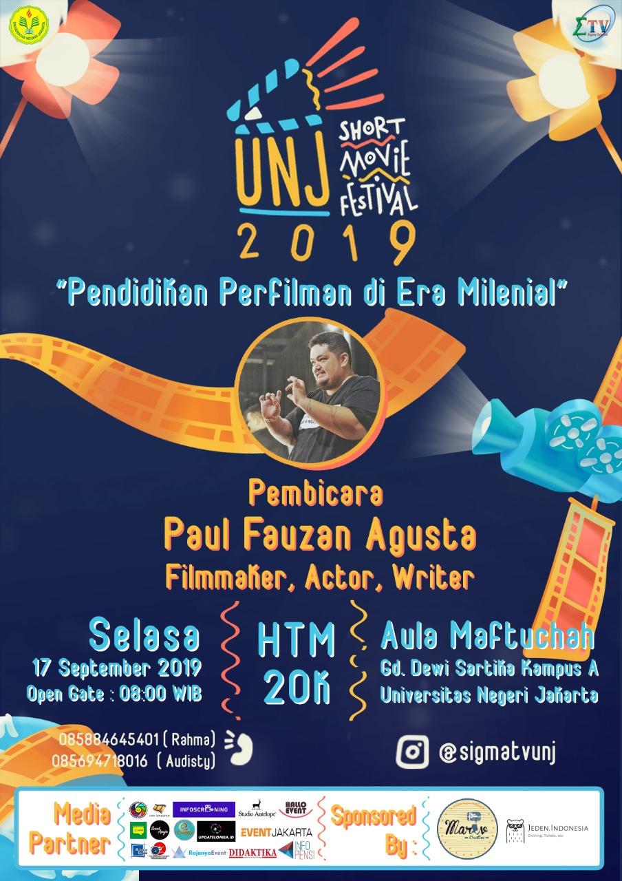 UNJ Short Movie Festival 2019