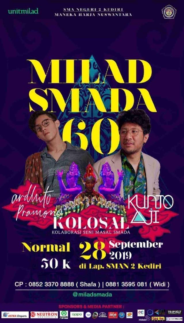 MILAD SMADA KEDIRI 60