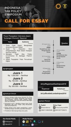 Indonesia Tax Policy Symposium