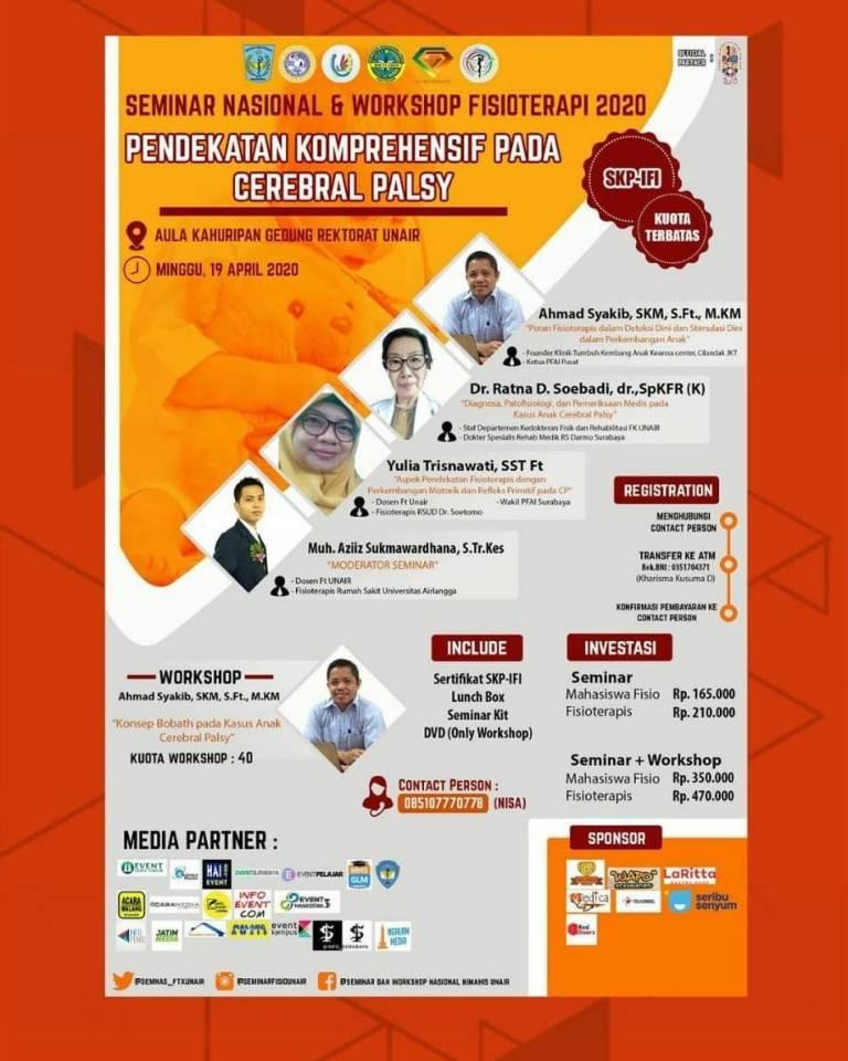 Seminar Nasional dan Workshop Fisioterapi 2020