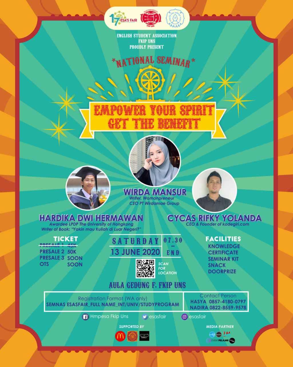 National Seminar Esa's Fair 2020