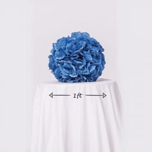 Blue Rose Ball Dimensions