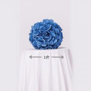 Blue Rose Ball Dimensions