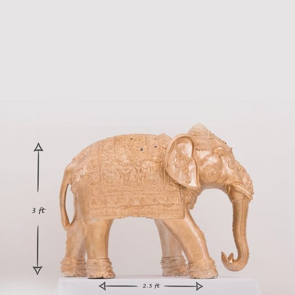 Elephant Gold 3ft