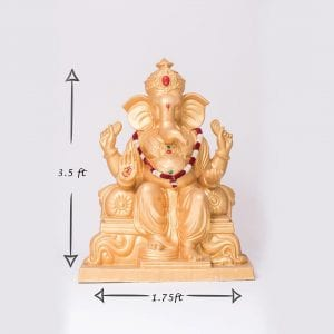 Large Gold Ganesh