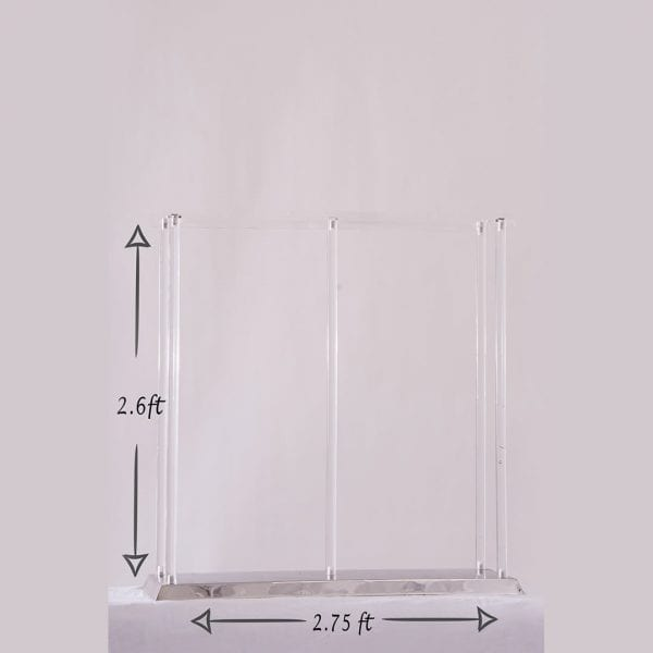 Acrylic Floral Stand