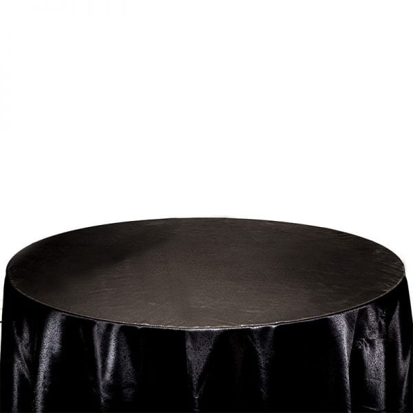 Large Size Black Satin Table Cover