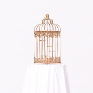 Cage Style Centerpiece