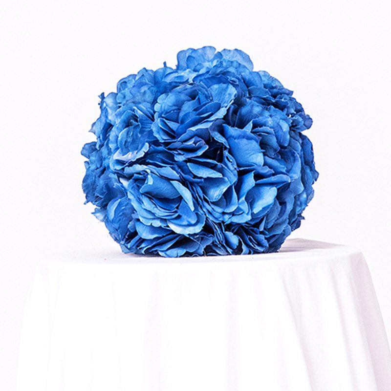 Blue Floral Ball- Centerpieces