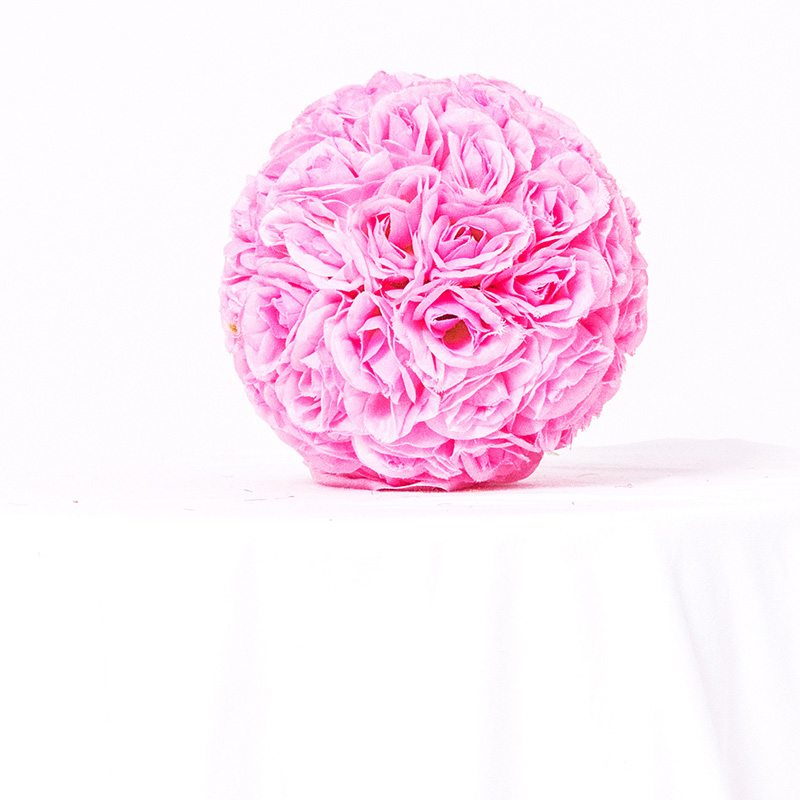 Pink Floral Ball