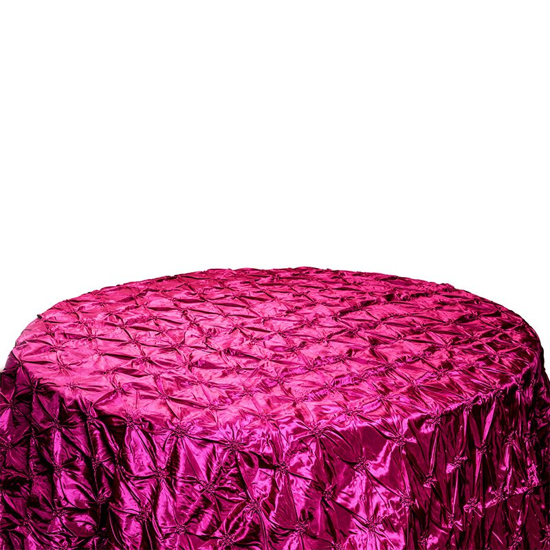 Fuchsia Pinch Table Cloth