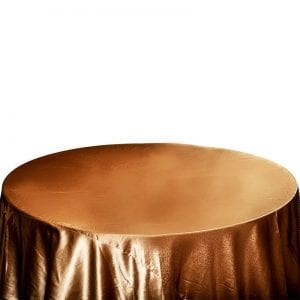 Attracting Gold Satin - Table Cloth