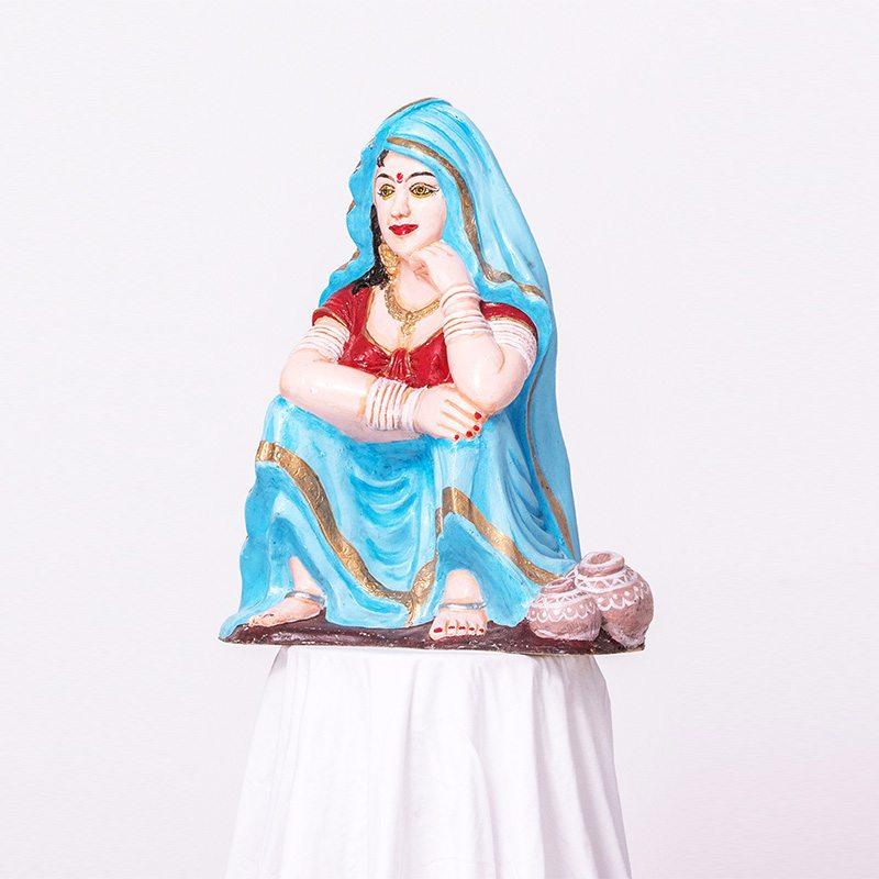 Rajasthni Staure Of An Lady