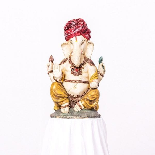 Large Size Colourful Ganesh Statue