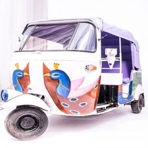 Auto Rickshaw- India Props