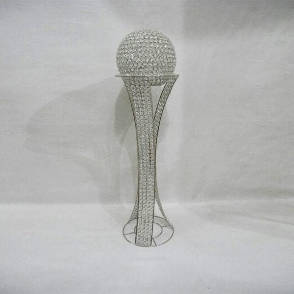 Led Light Silver Crystal Cup