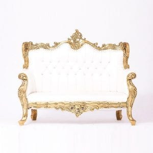 Golden Plated Sofa
