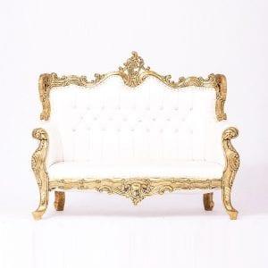 Golden Plated Sofa
