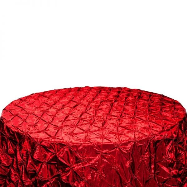 Red Pinch Table Cloth