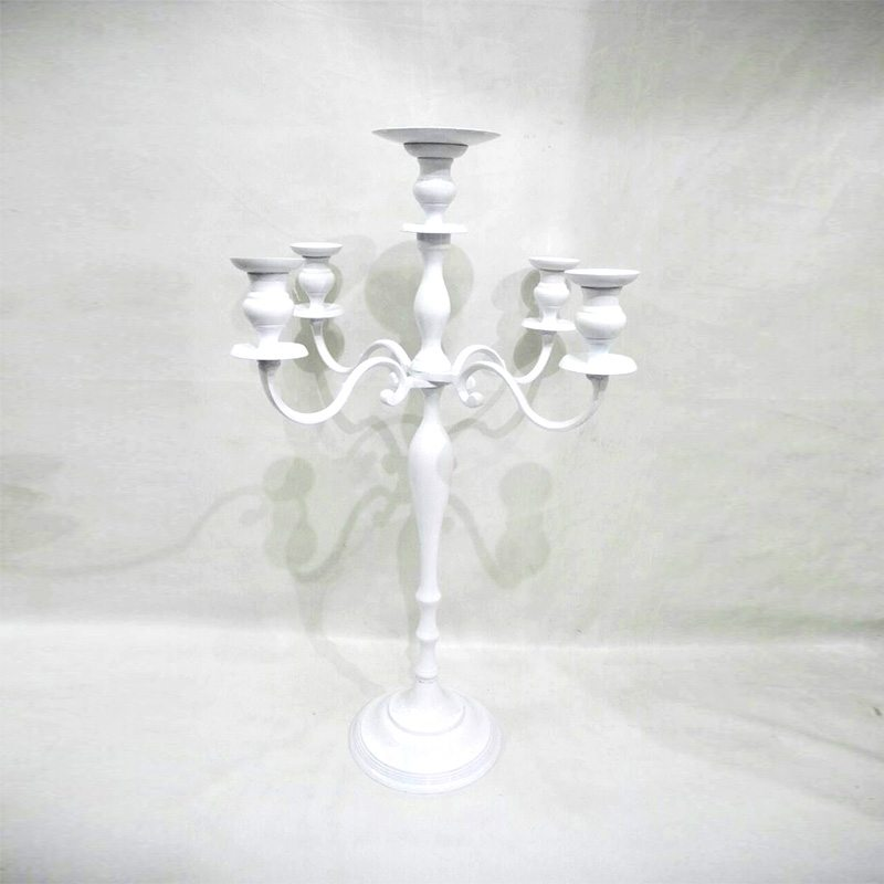 Simple white Candelabra