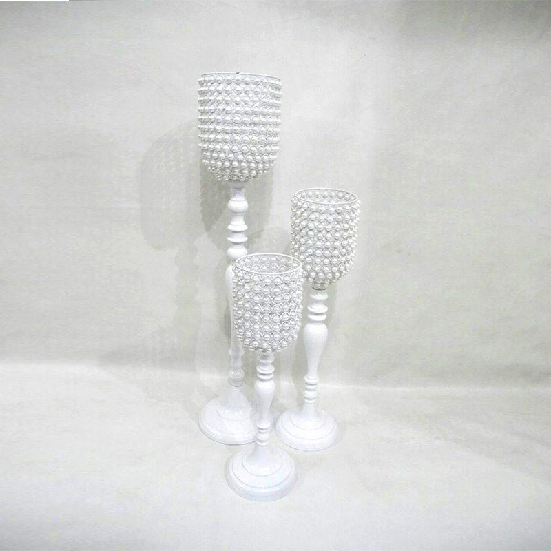 White Pearl Candelholder