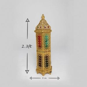 Latern Moroccan Medium Gold