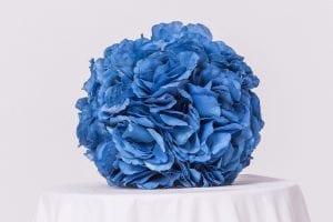 Blue Floral Balls