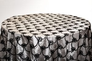 Black Large Size Table Cover