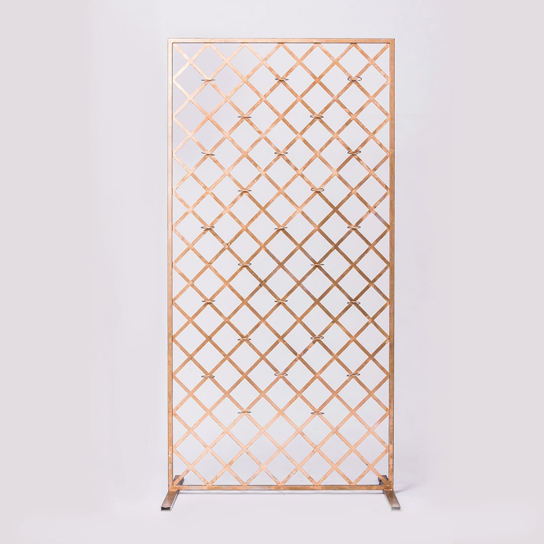 Gold Candle Screen