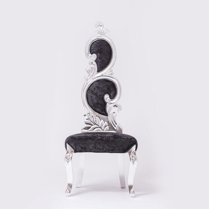 Black Velvet Chair