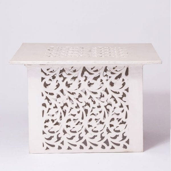 Laser Cut Square Table with Top