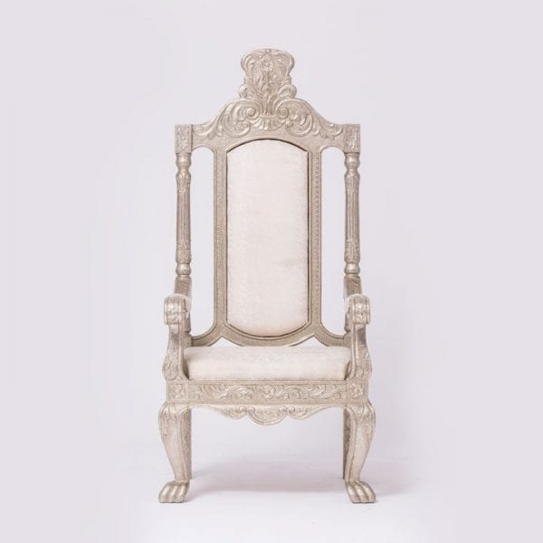 Silver Outline Chair