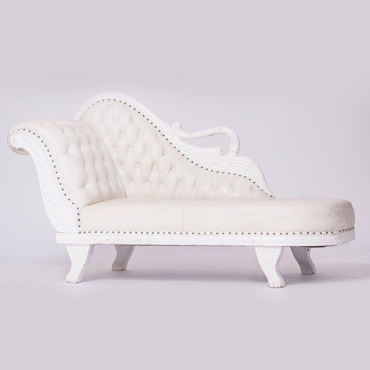 Modern Style White Chair