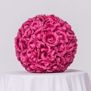 Silk Floral Ball - Centerpiece